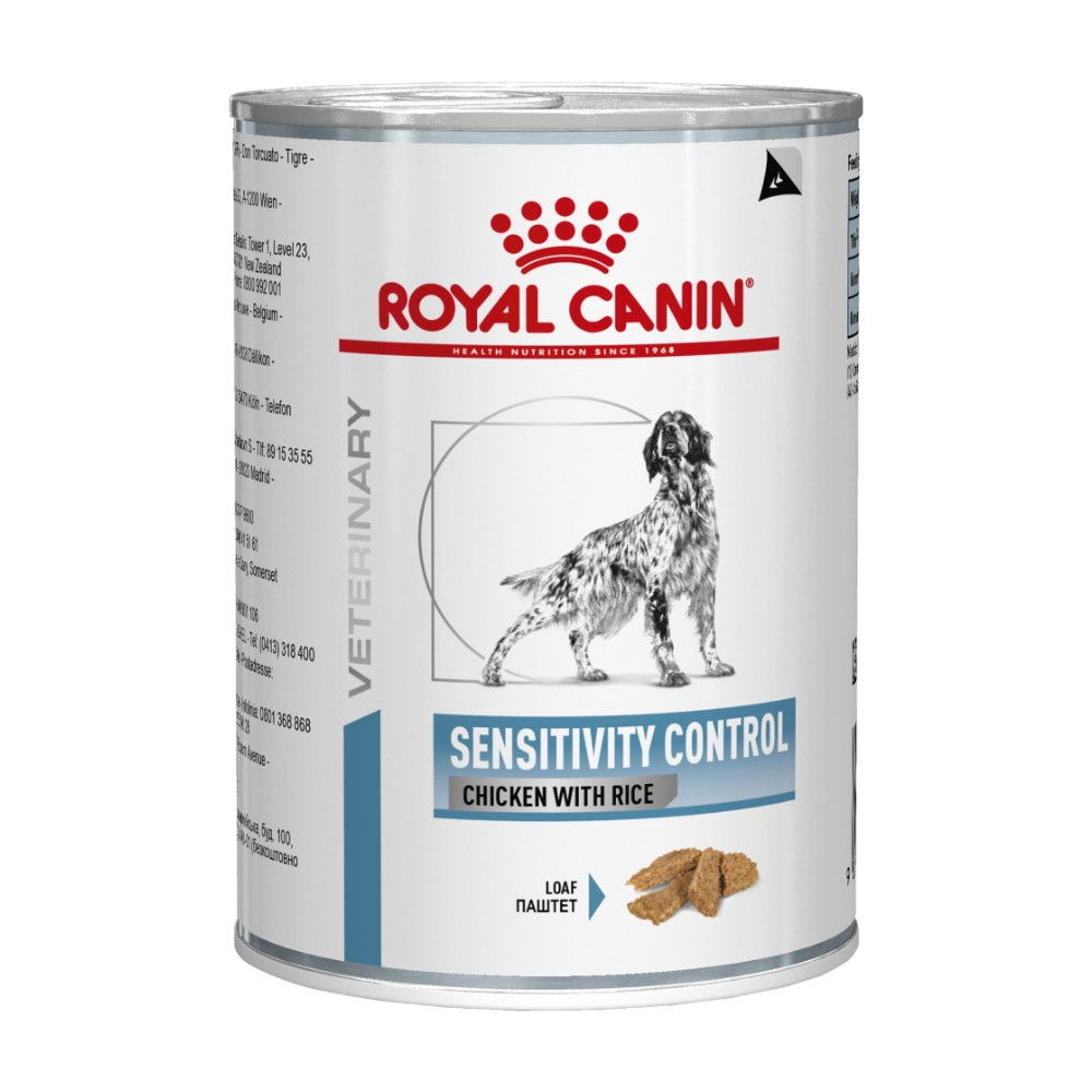 Royal Canin Veterinary Diet Canine Sensitivity Control Chicken and Rice Cans