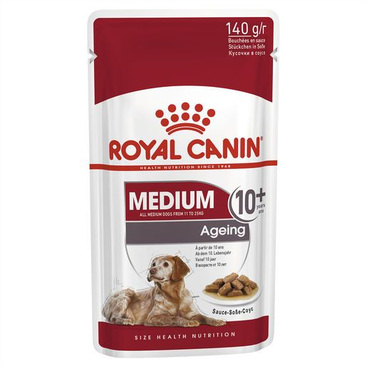 Royal Canin Medium Ageing 10+ Wet Food Pouches