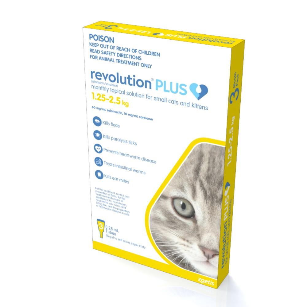 Revolution Plus Kitten and Small Cat 1.25-2.5kg