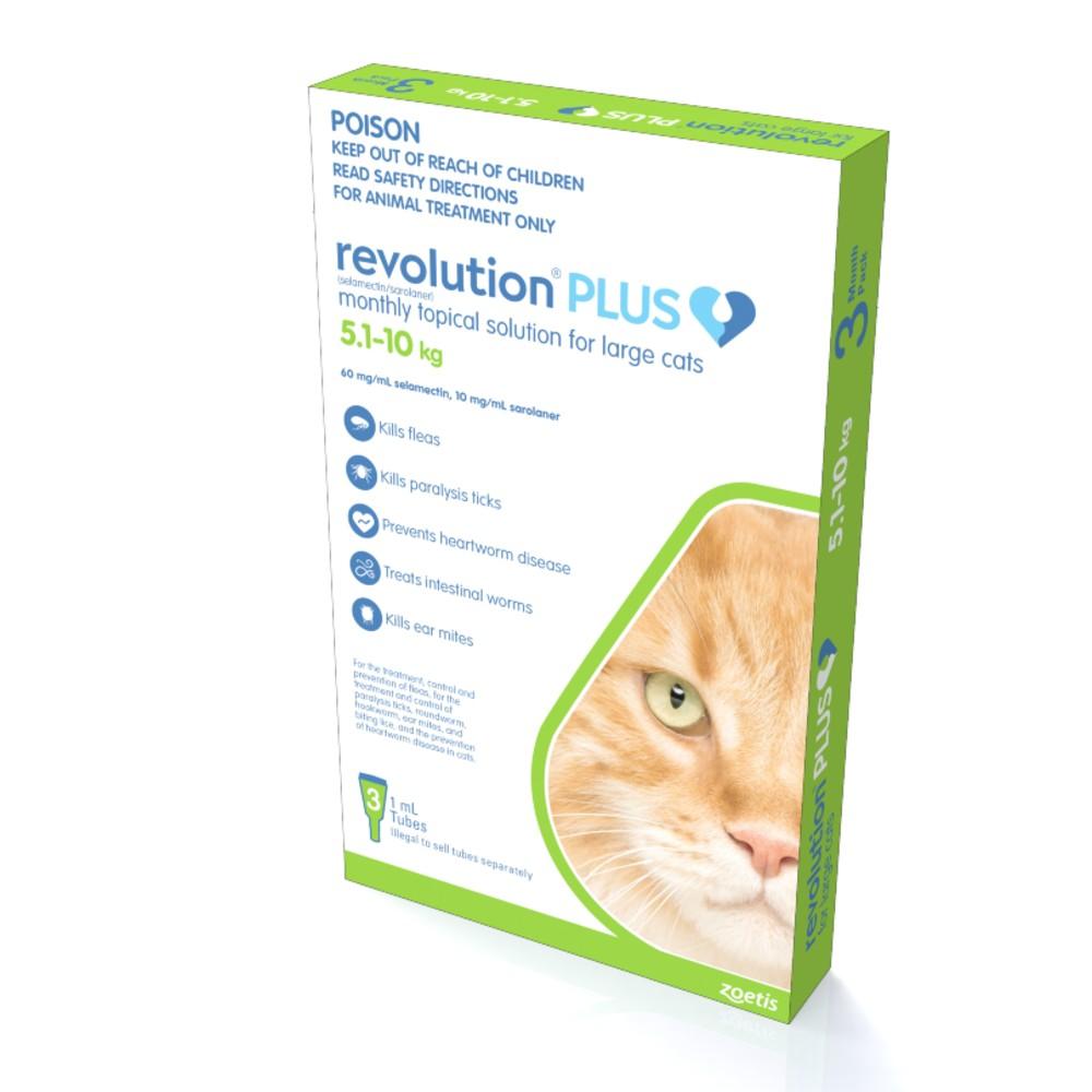 Revolution Plus Large Cat 5.1-10kg