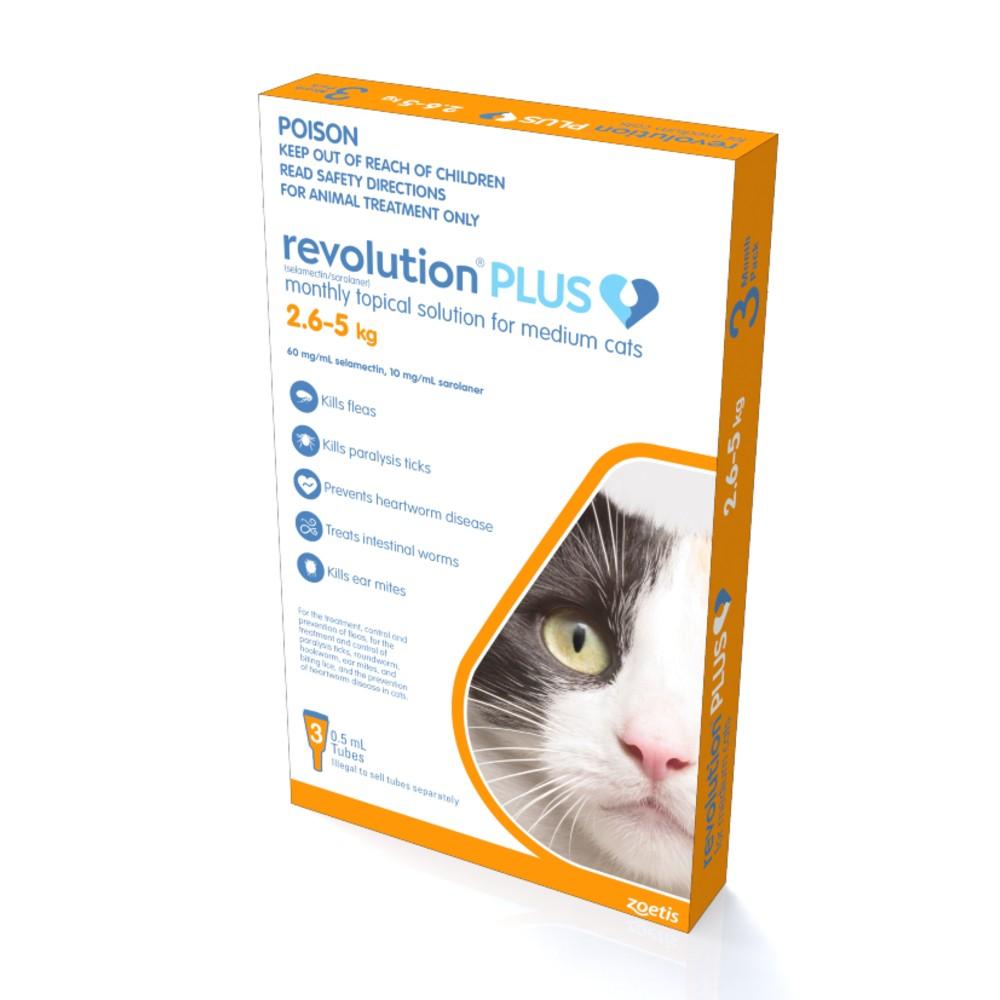 Revolution Plus Medium Cat 2.6-5kg
