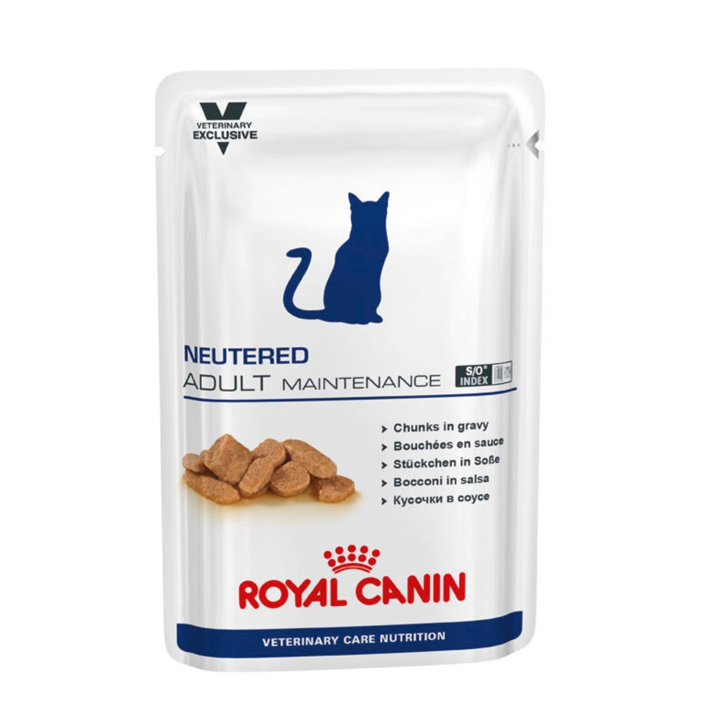 Royal Canin Veterinary Diet Feline Neutered Adult Maintenance Pouches