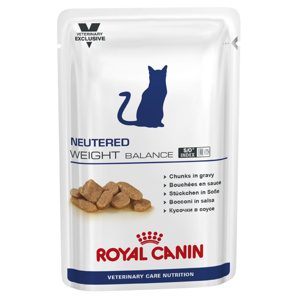 Royal Canin Veterinary Diet Feline Neutered Weight Balance Pouches