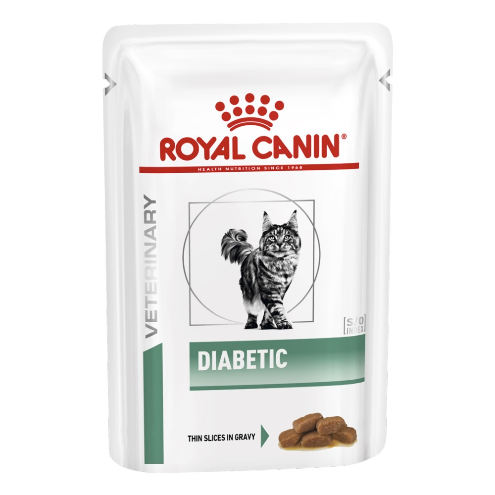 Royal Canin Veterinary Diet Feline Diabetic Pouches