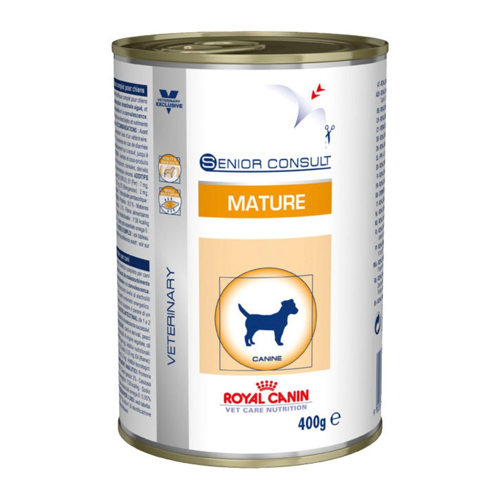 Royal Canin Veterinary Diet Mature Cans