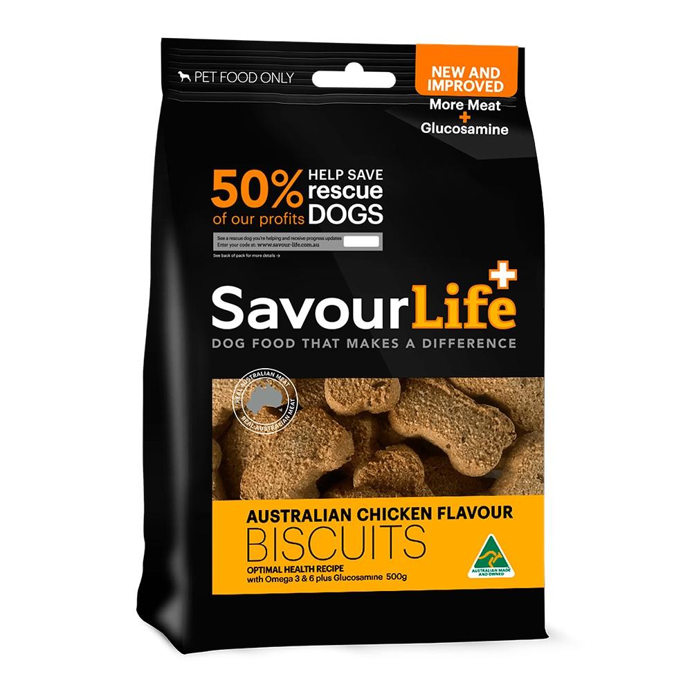 Savour Life Natural Treats Australian Chicken Flavour Biscuits