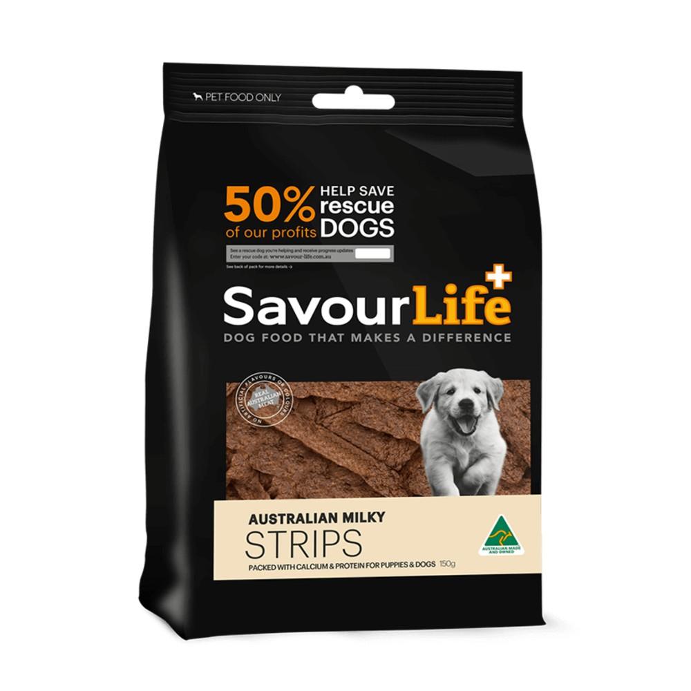 Savour Life Natural Treats Australian Milky Strips