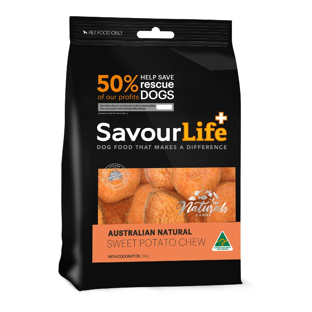 Savour Life Natural Treats Australian Sweet Potato Chews