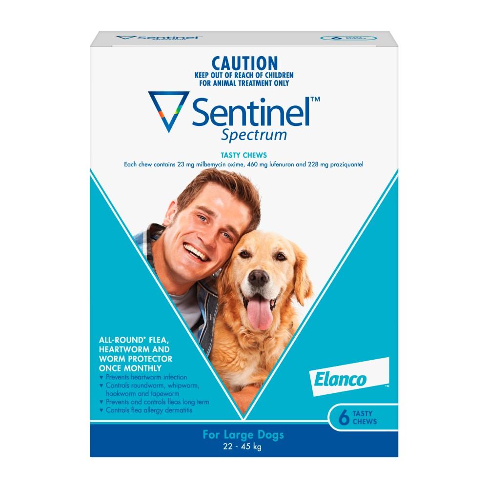 Sentinel Spectrum Chews Large Blue