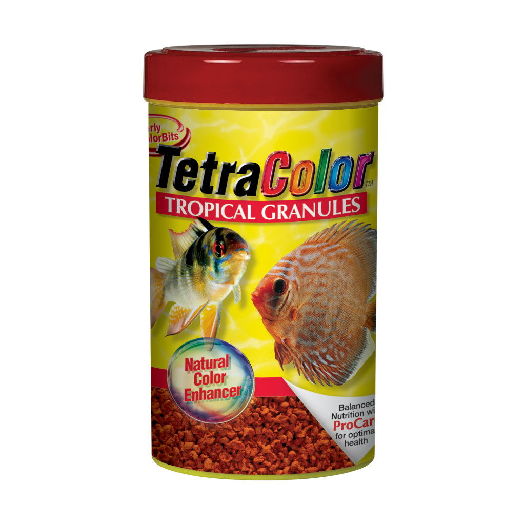 TetraColor Tropical Fish Food Granules
