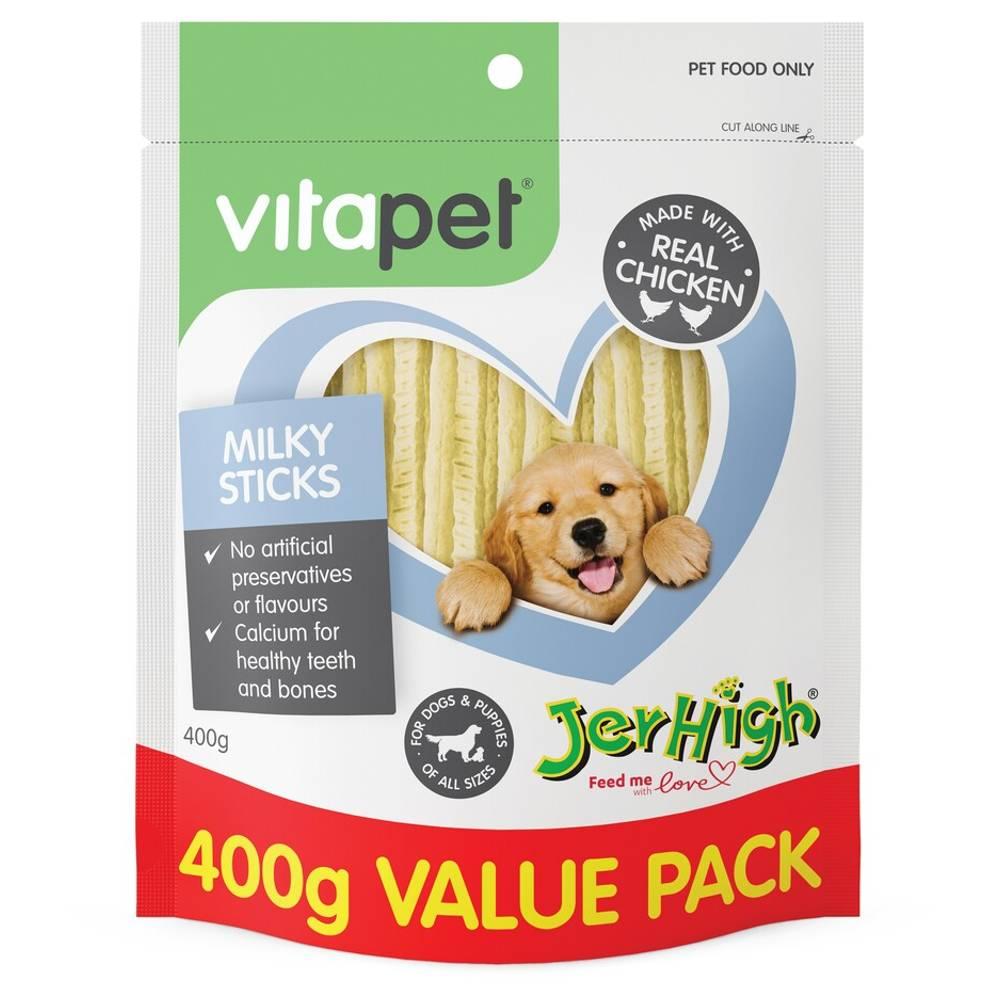 VitaPet Jerhigh Milky Sticks