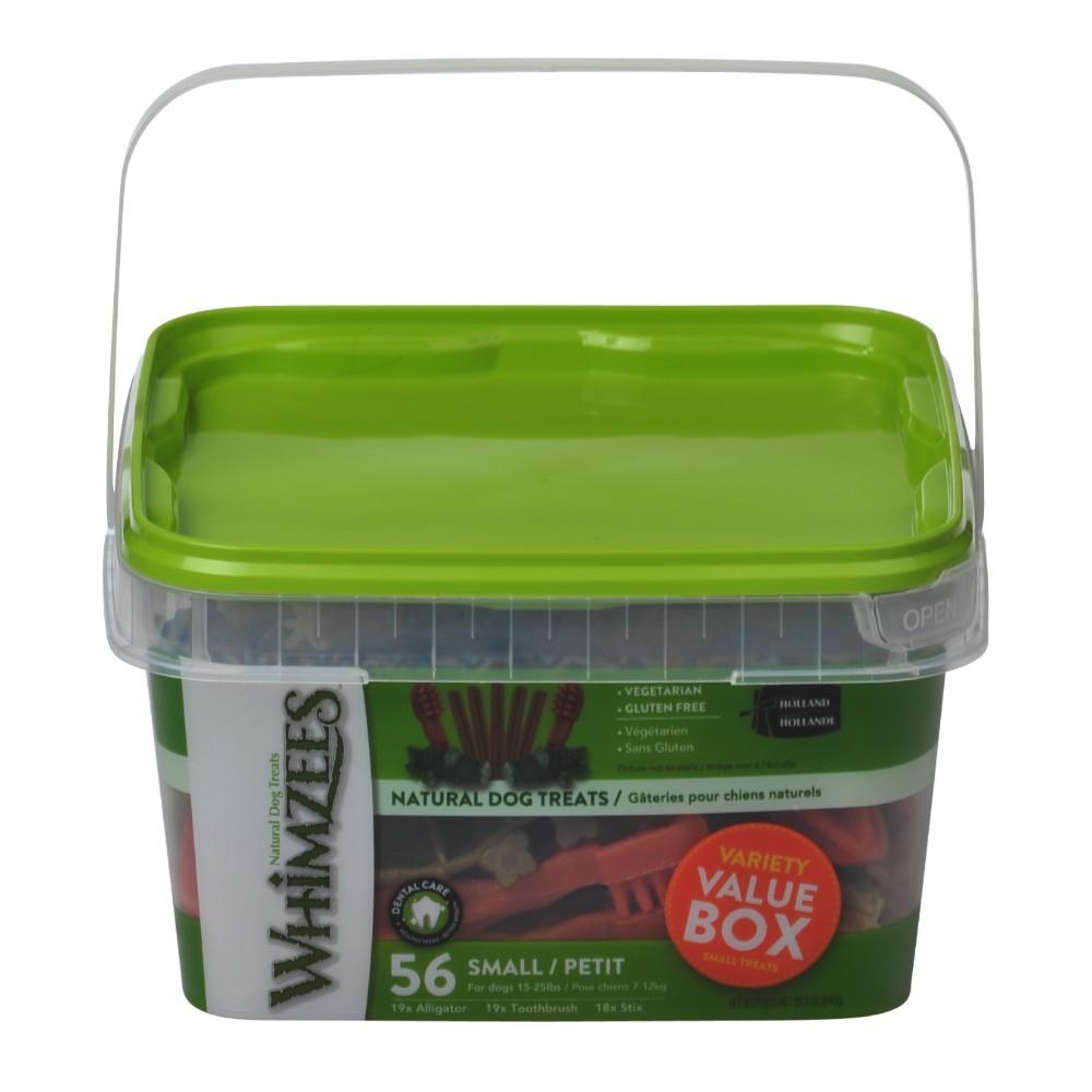 Whimzees Variety Value Box Small Breed Dental Treats