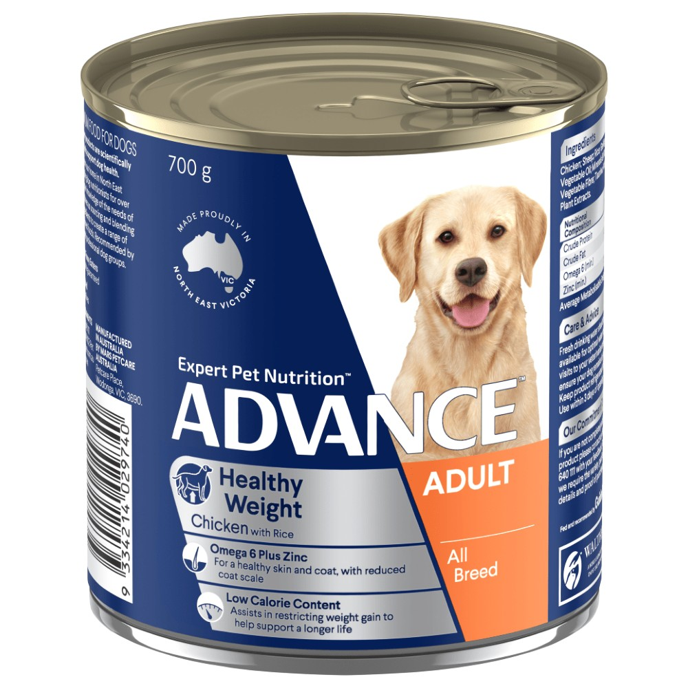 Advance Adult Healthy Weight Chicken and Rice Cans
