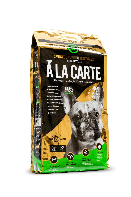 A La Carte Grain Free Smoked Salmon and Vegetable