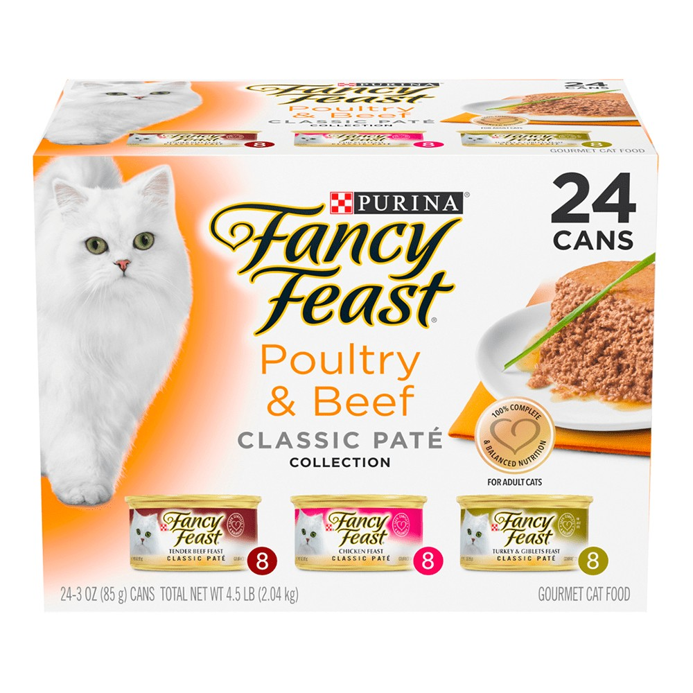 Fancy Feast Poultry And Beef Pate Collection