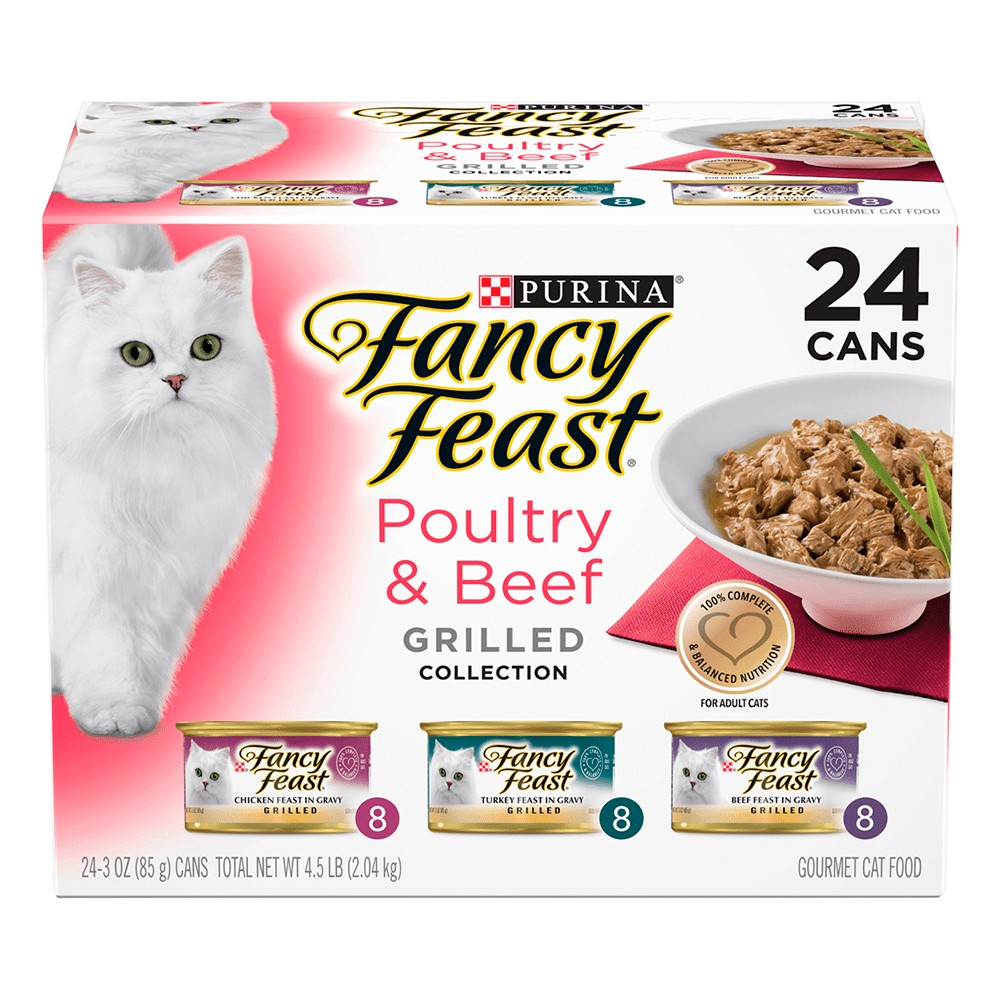 Fancy Feast Poultry and Beef Grilled Collection