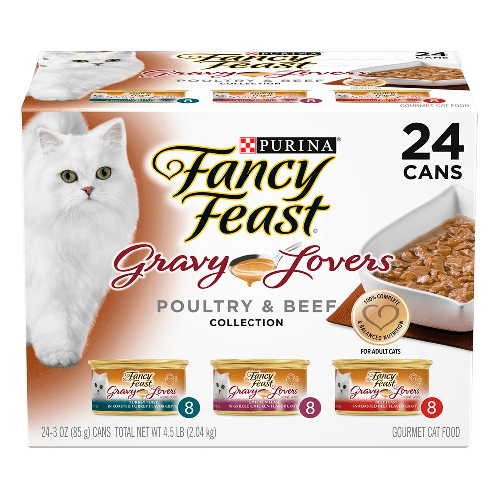 Fancy Feast Gravy Lovers Poultry and Beef Collection