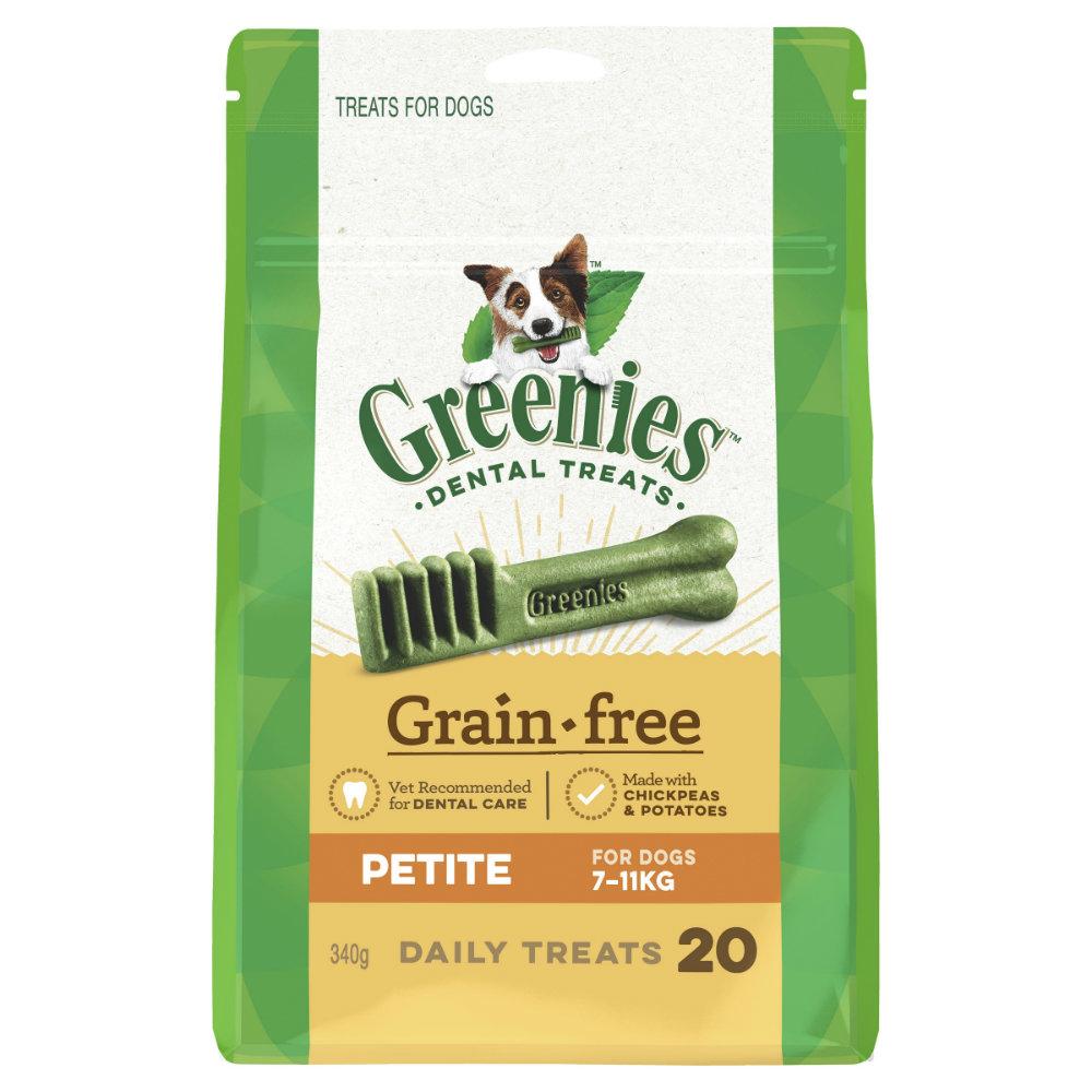 Greenies Grain Free Dental Treats Petite