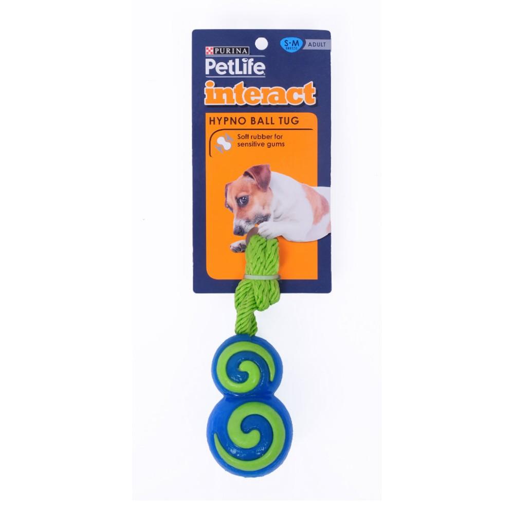 Purina Petlife Hypno Ball Tug Small / Medium