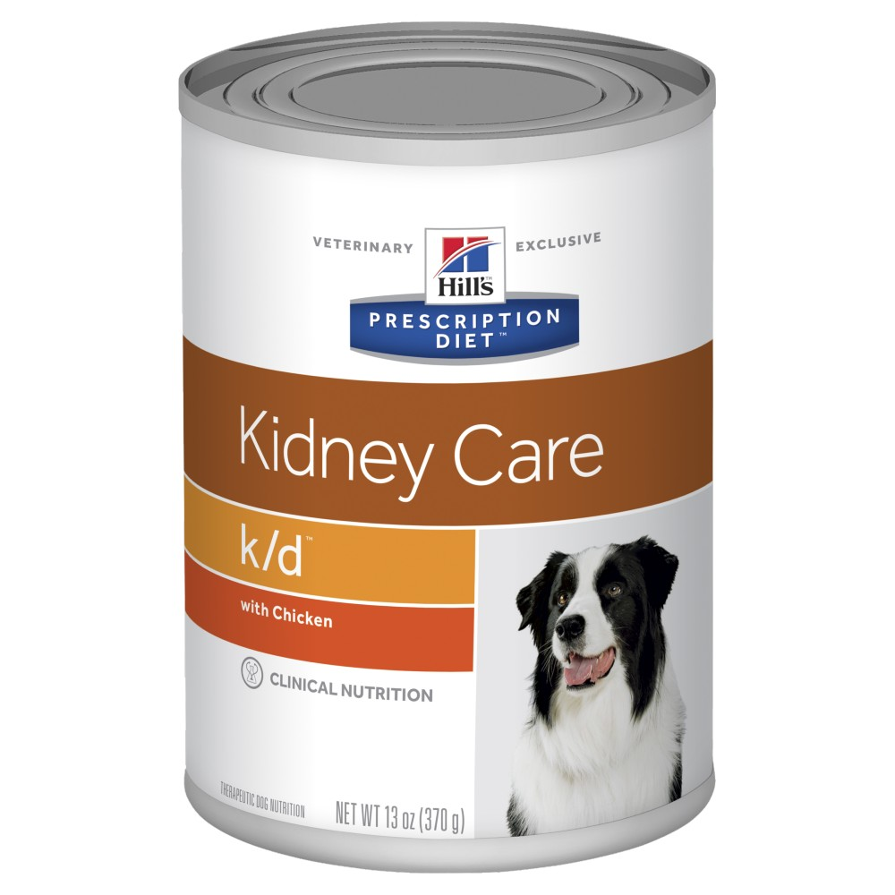 Hills Prescription Diet k/d Kidney Care with Chicken Canned Dog Food