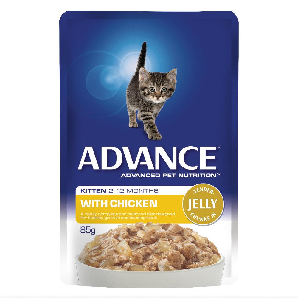 Advance Kitten Chicken in Jelly