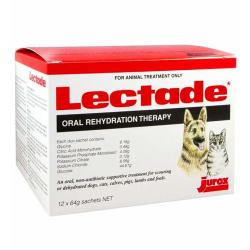 Jurox Lectade Oral Rehydration Sachets