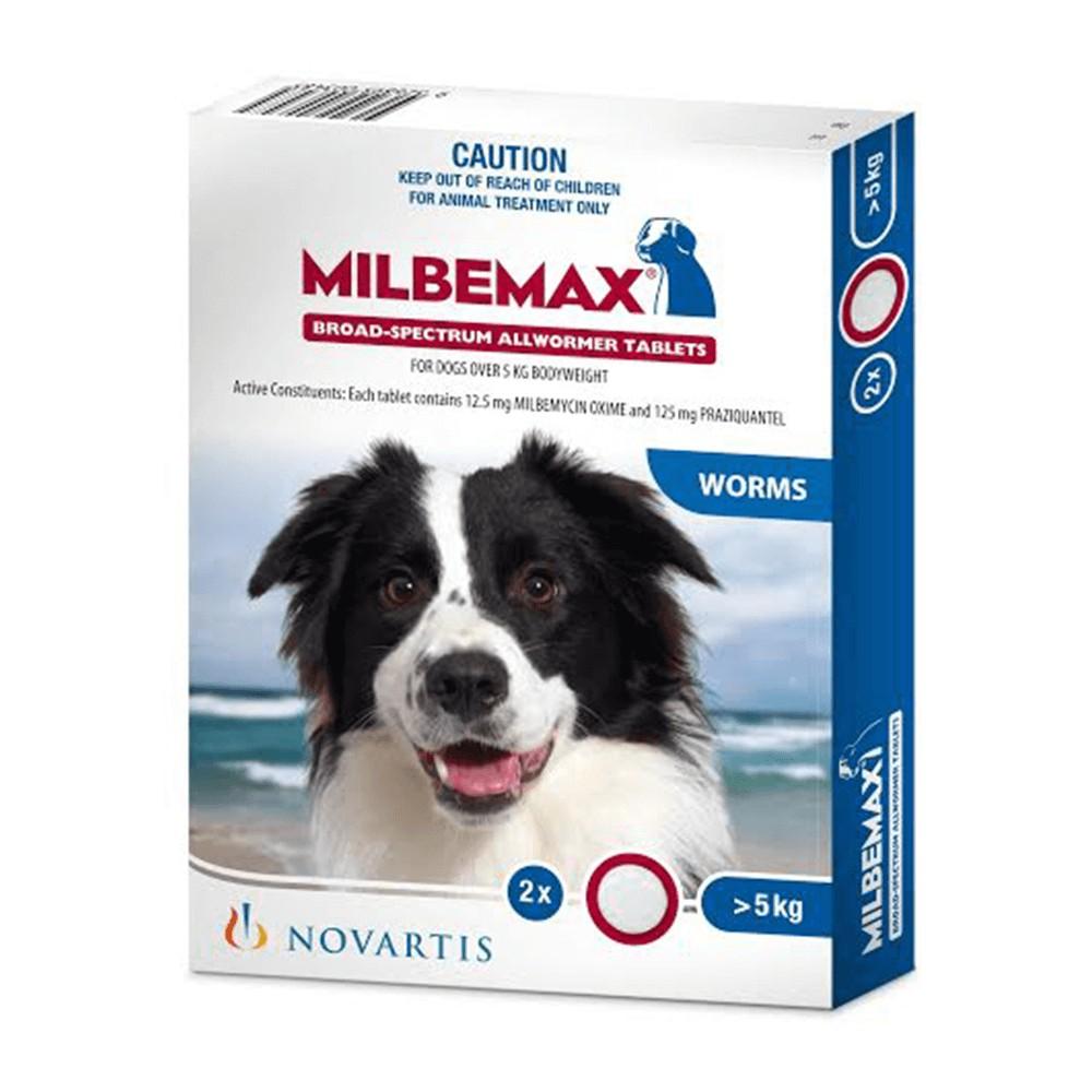 Milbemax Allwormer Dog Over 5kg