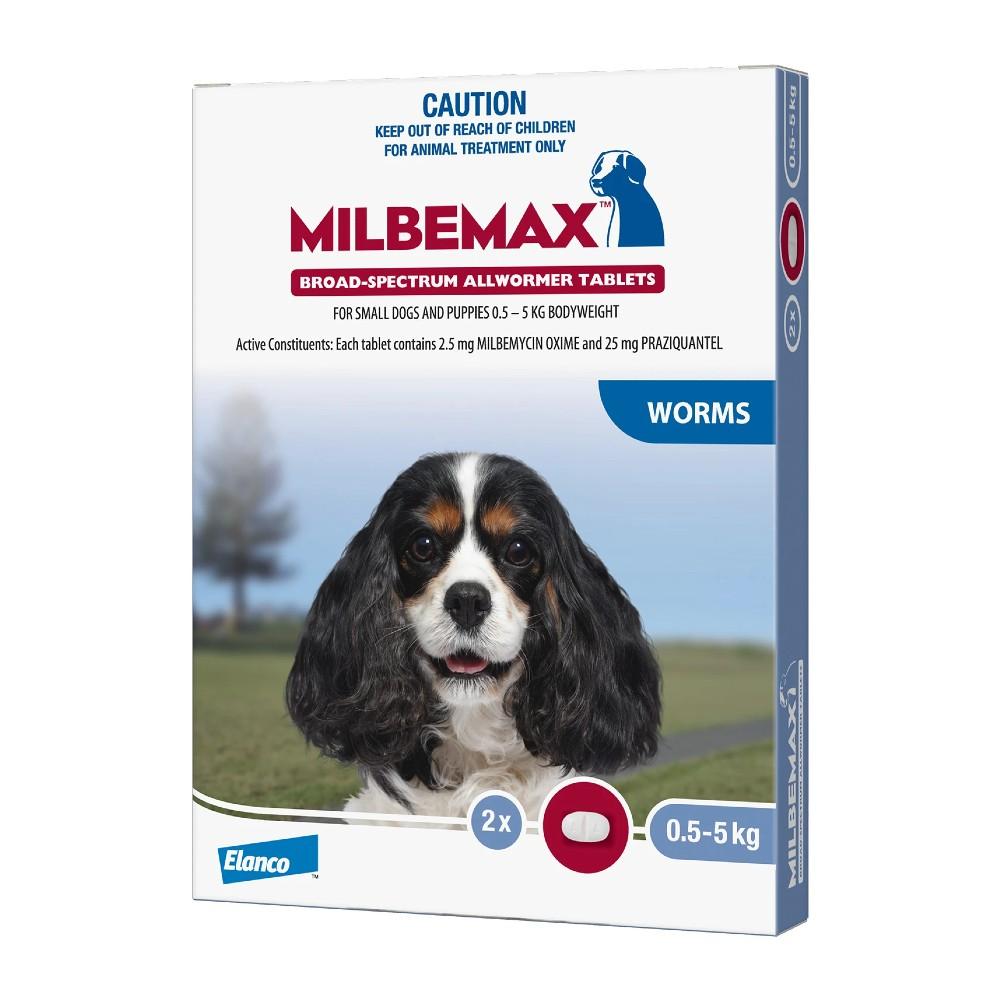 Milbemax Allwormer Dog Under 5kg