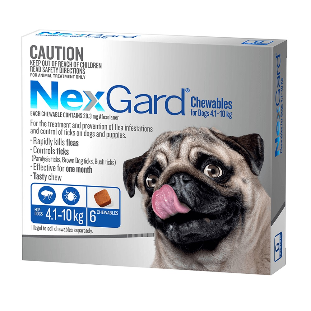 NexGard Small 4-10kg Blue
