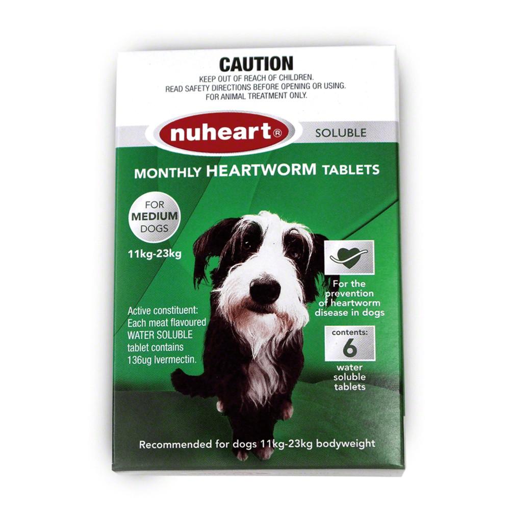 Nuheart Medium Dog 11-23kg Green