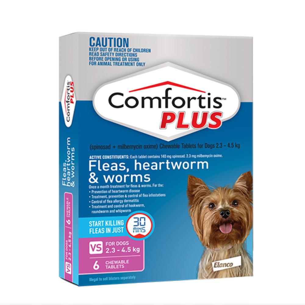 Comfortis Plus Pink 2.3-4.5kg