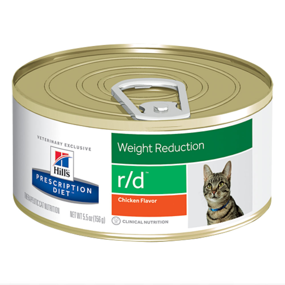 Hills Prescription Diet r/d Weight Reduction Canned Cat Food
