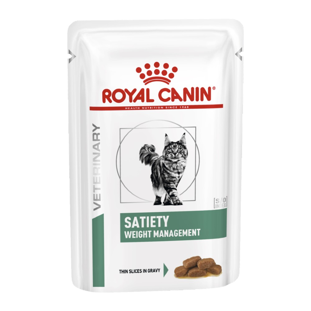 Royal Canin Veterinary Diet Feline Satiety Pouches