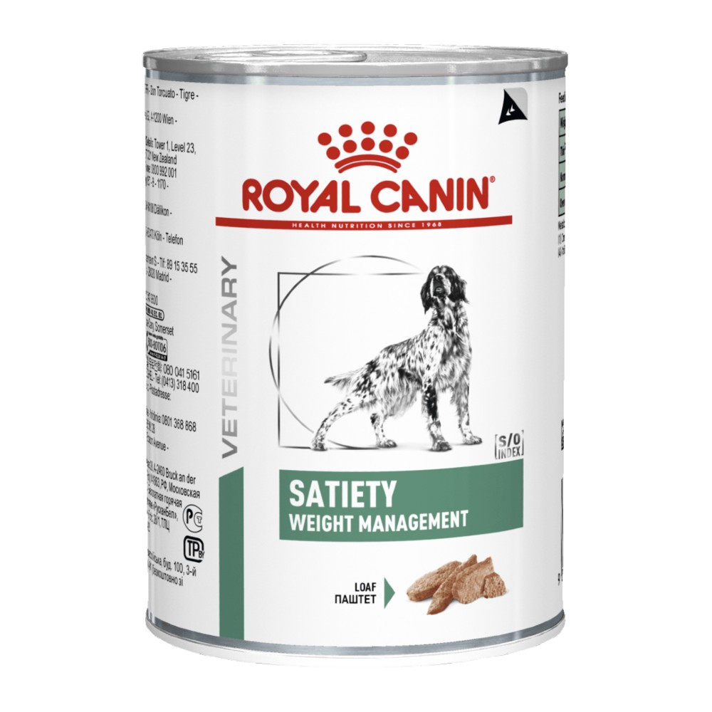 Royal Canin Veterinary Diet Canine Satiety Cans